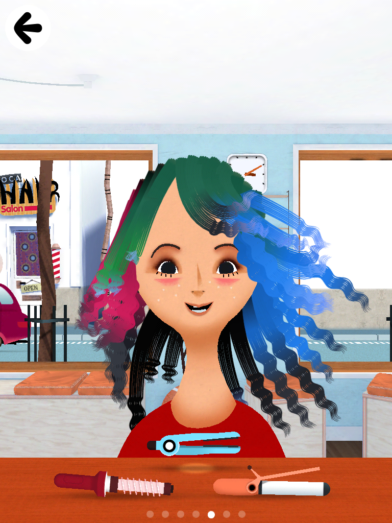 toca boca hair styles sensory haircut time early childhood community 4054